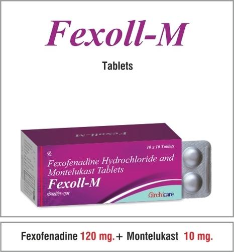 Fexofenadine 120 +Montelukast 10