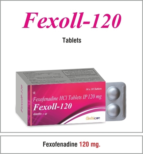 Fexofenadine 120 mg
