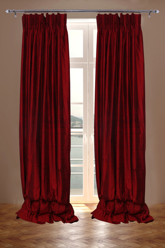 Pure Silk Indian Dupioni Curtains