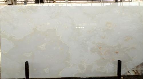 Crystal White Onyx Slab