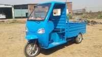 Toughened Glass and Front Mirror Battery Rickshaw