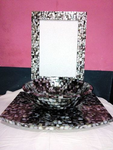 Black Agate Wash Basin