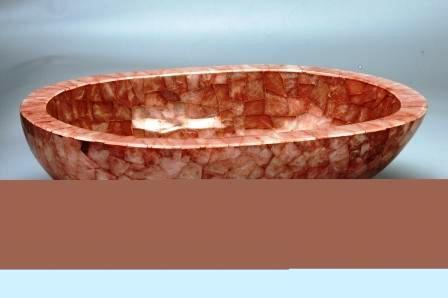 Rose Quartz Sink