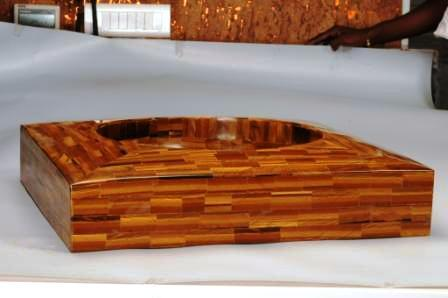 Tiger Eye Square Sink