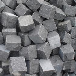 Rajasthan Black Granite Cobbles