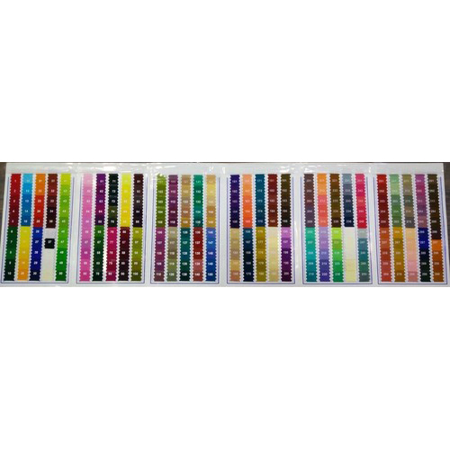 exclusive colour chart