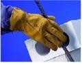CHROME LEATHER HAND GLOVES