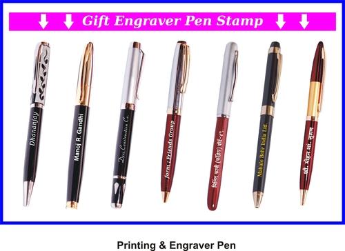 Self Ink Gift Engraver Pen