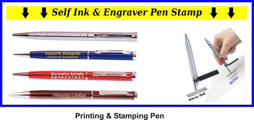 Self Ink & Engraver Stamping Pen