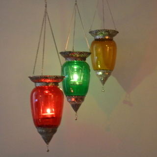 Glass Hanging Lights