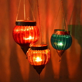 Decorative Glass Hanging