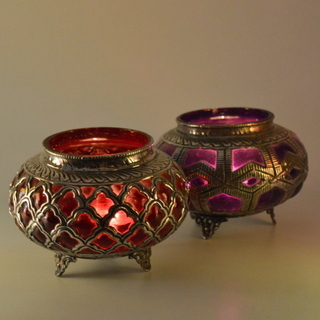 Colored Candle Votive