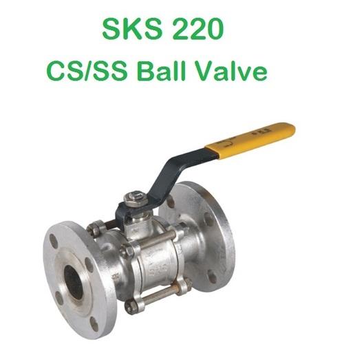 SKS 220 CS/SS Ball Valve