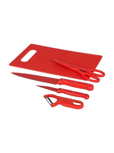 5 Pcs Kitchen Tool Set With Chopping Board