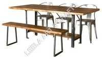 Industrial Style Dining Set