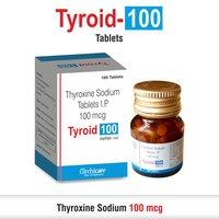 Thyroxine 100 mcg