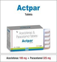 Aceclofenec 100 + Paracetamol 325