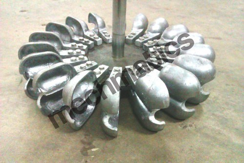 Pelton Impeller Buckets