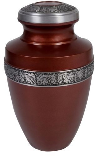 Matt Colored Brass Urn