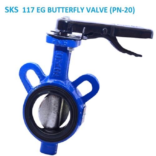 SKS 117 EG BUTTERFLY VALVE (PN-20)
