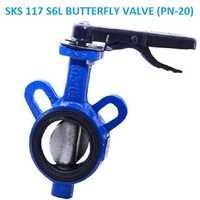 SKS 117 S6L BUTTERFLY VALVE (PN-20)
