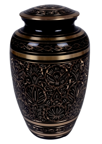 Classic Engraved Brass Urn
