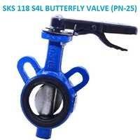 SKS 118 S4L BUTTERFLY VALVE (PN-25)