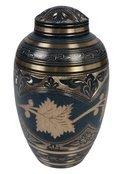 Classy Flower Brass Urn