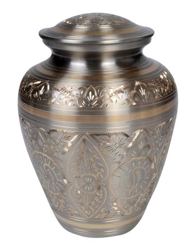 Classy Pewter Brass Urn