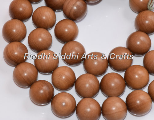 sandalwood islamic beads mala
