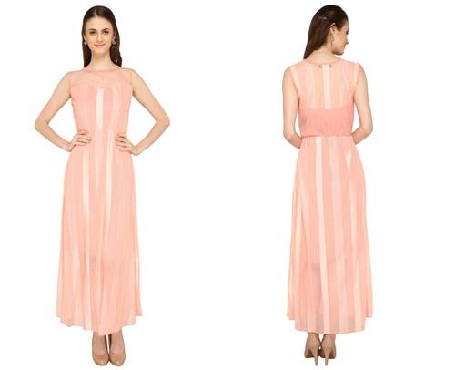 Bedazzle Women's Maxi Multicolor Dress