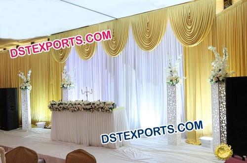 Wedding Valances Mandap Backdrop