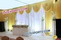 Wedding Valances Mandap Backdrop