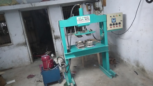 Semi Automatic Paper Dish Machine
