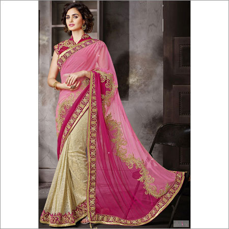 Embroidered Indian Sarees