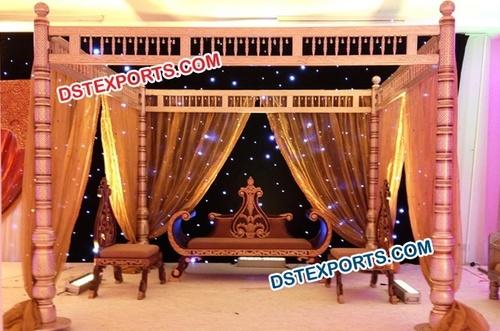 Sankheda Gujrati Wedding Mandap