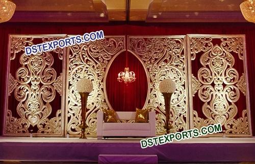 Fiber Jali Backdrop for Weddings