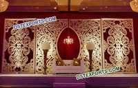 Fiber Jali Backdrop for Weddings