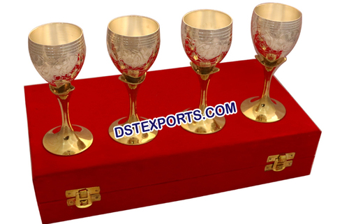 Wedding Handicraft Silver Wine Glass