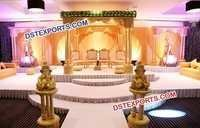 Wedding Wooden Carved Palace Mandap