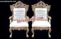 Classic Bride And Groom Royal wedding chair
