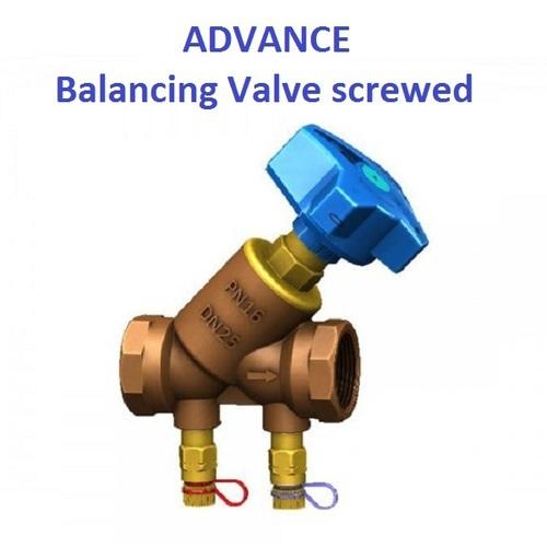 Advance Make Balancing Valve Bronze