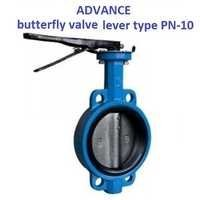 Advance Wafer Type Butterfly Valve lever type (PN-10)