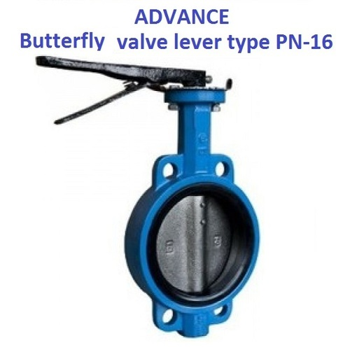 Advance Wafer Type Butterfly Valve Lever Type (PN-16)
