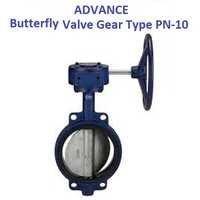 ADVANCE WAFER TYPE BUTTERFLY VALVE PN-10 (GEAR TYPE)