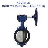 ADVANCE WAFER TYPE BUTTERFLY VALVE PN-16 (GEAR TYPE)