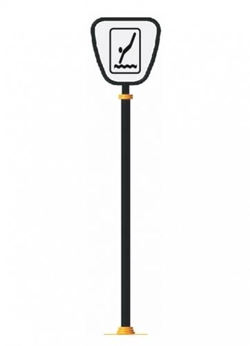 Road Safety Signage Pole