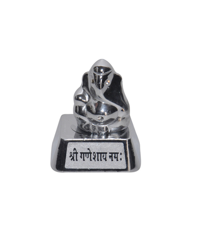 White Metal Ganesh Idol At Price Range 250 00 850 00 Inr Piece