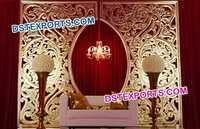 Muslim Wedding Fiber Glass Backdrop Set