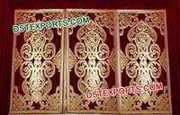 Muslim Wedding Carved Fiber Glass Back Walls